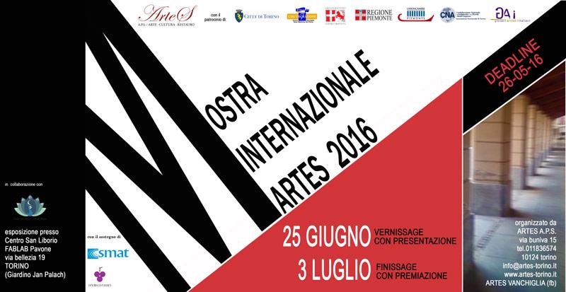 Locandina Artes Mostra Internazionale 2016