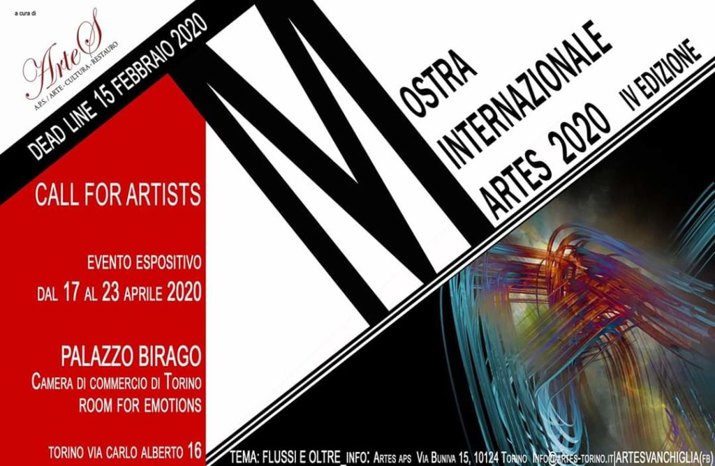 MOSTRA INTERNAZIONALE ARTES 2020